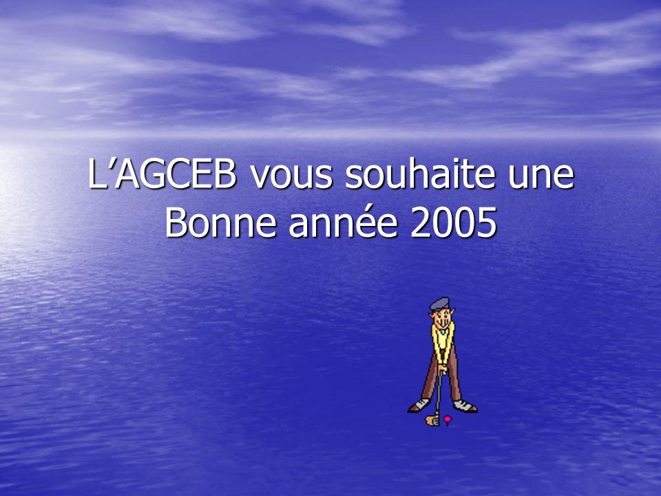 LAGCEB vous souhaite une Bonne année 2005