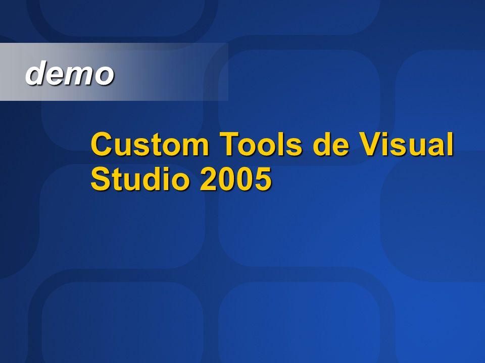 Custom Tools de Visual Studio 2005 demo demo