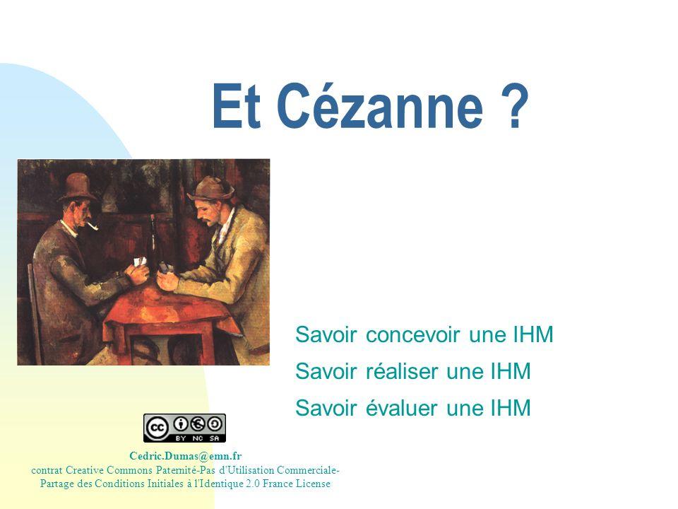 Et Cézanne .