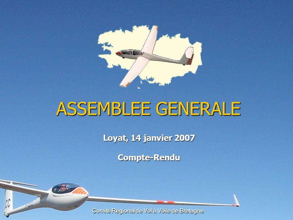 Comité Régional de Vol à Voile de Bretagne Financement du planeur