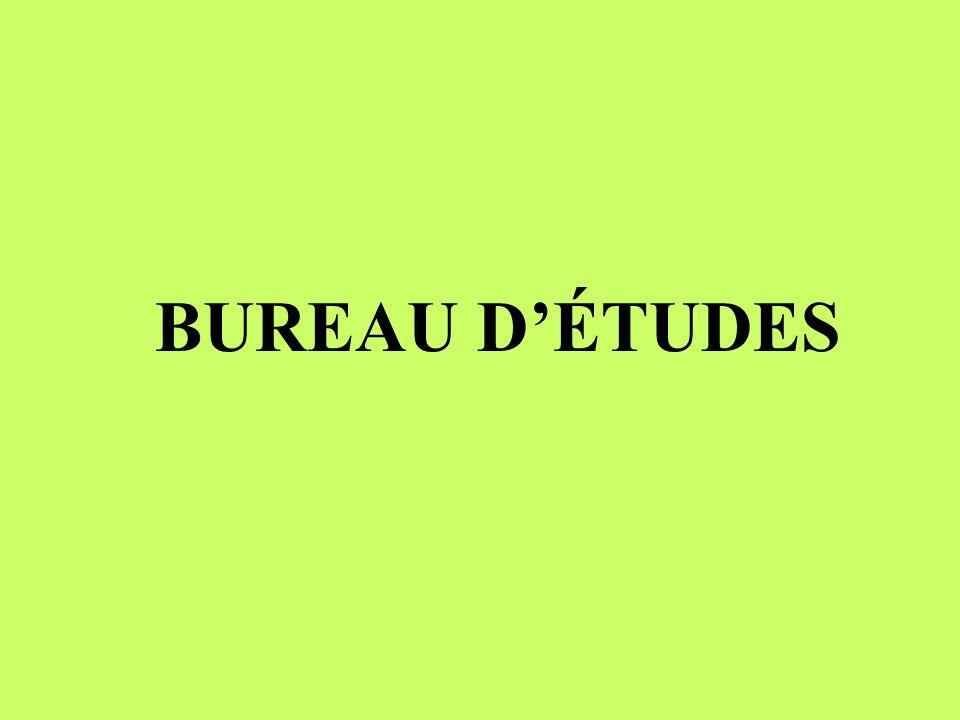 BUREAU DÉTUDES