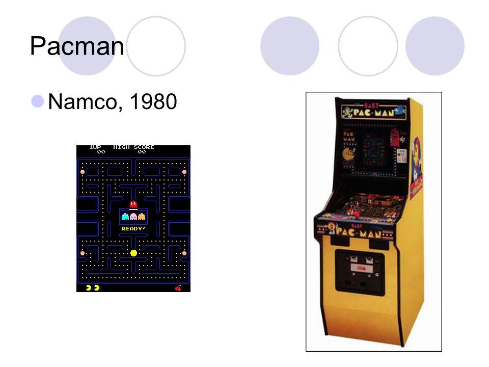 Pacman Namco, 1980