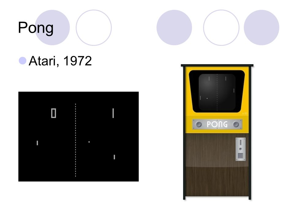 Pong Atari, 1972