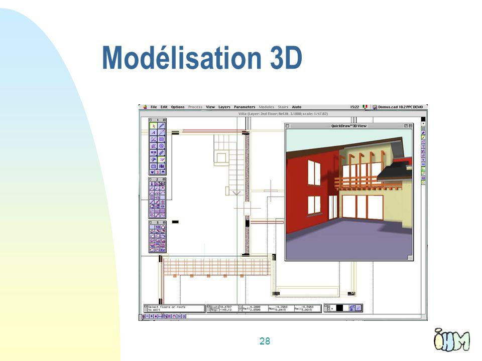 28 Modélisation 3D