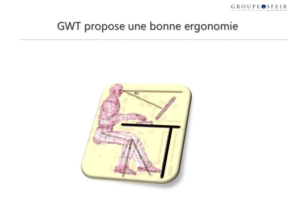 GWT propose une bonne ergonomie