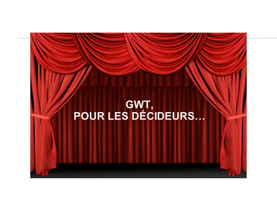 GWT, POUR LES DÉCIDEURS…