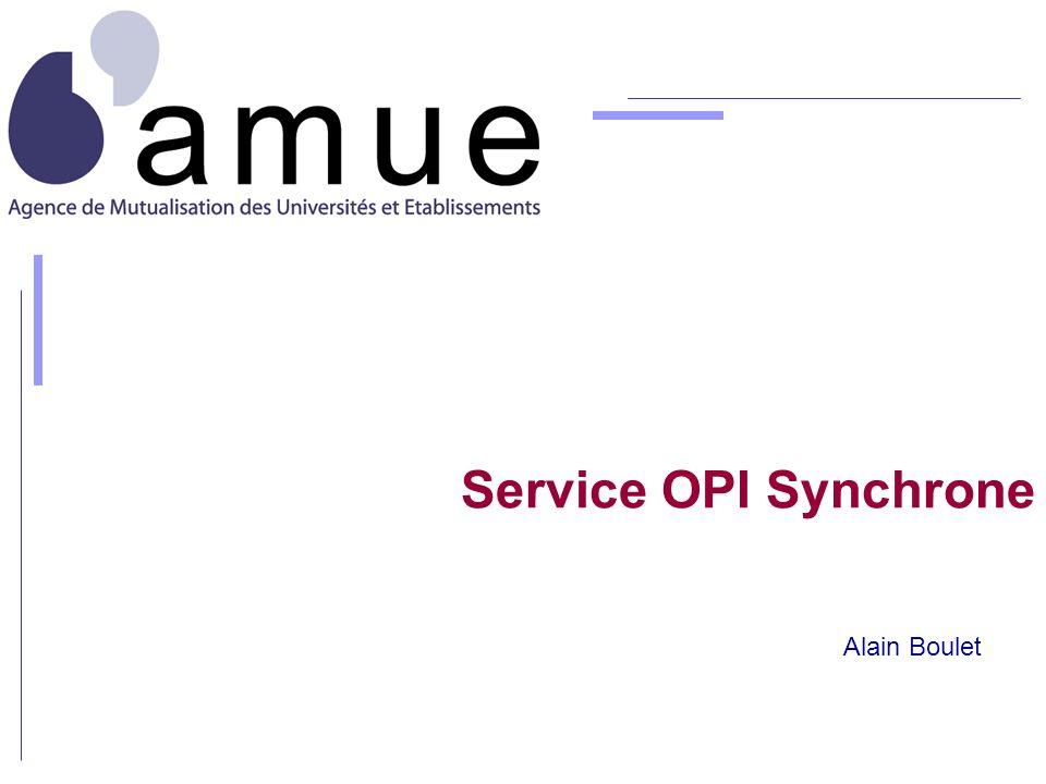 Service OPI Synchrone Alain Boulet