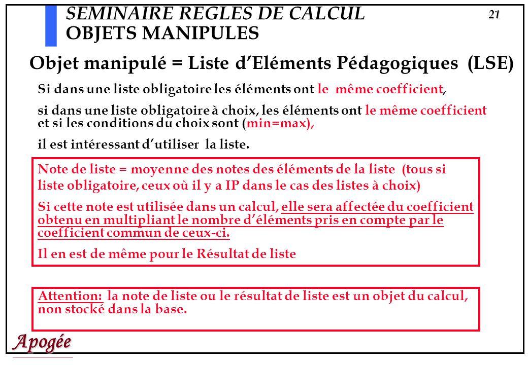 Apogée20 Diplôme FICTIP Version de diplôme 1995 Etape 1 Version d'étape 1995 Liste1 | x CHOIX1 CHOIX2 CHOIX3 CHOIX4 Liste CH3 | o CH31 CH32 CH33 Liste