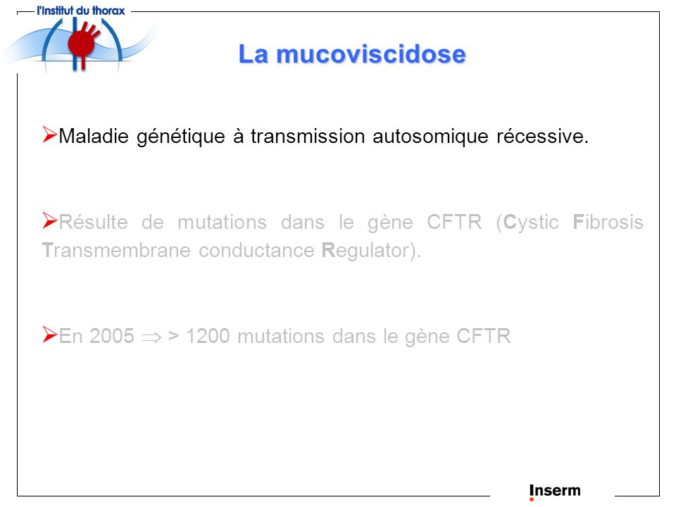 Chantal GAUTHIER Protéines chaperonnes et protéines partenaires impliquées dans la maturation et l adressage membranaire de CFTR