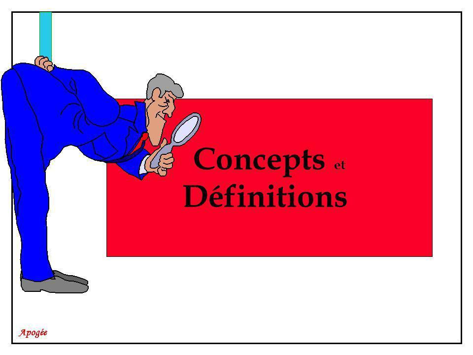 Apogée Concepts et Définitions