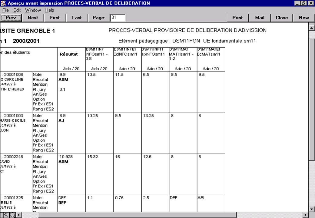 Apogée 80 Exemple de PV de délibération