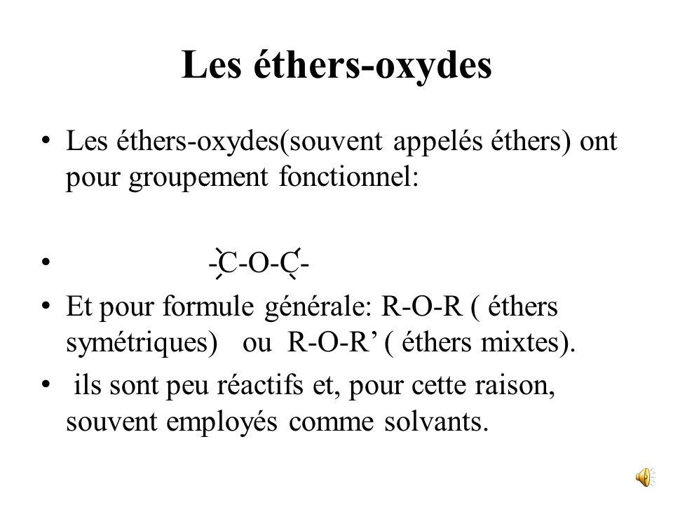 R R R O δ- O δ- O δ- H δ+ H δ+ H δ+ H δ+ H δ+ O δ- O δ- R R structure polymère. Remarque: la liaison H augmente la viscosité du liquide.