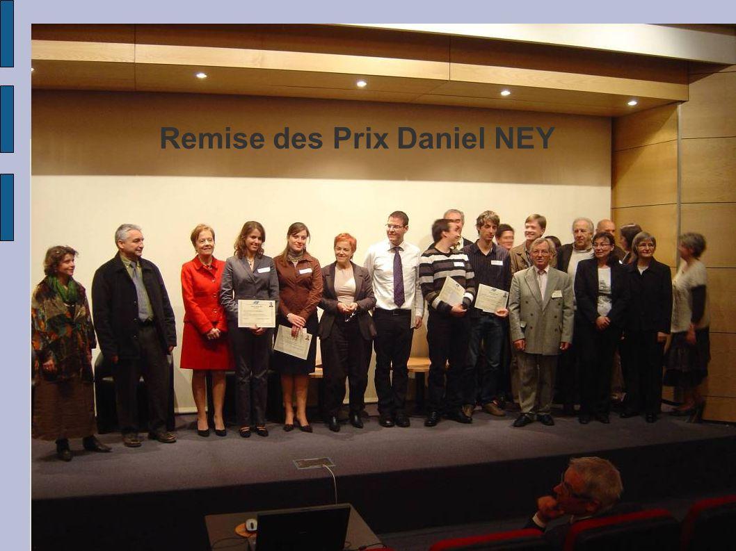 Remise des Prix Daniel NEY