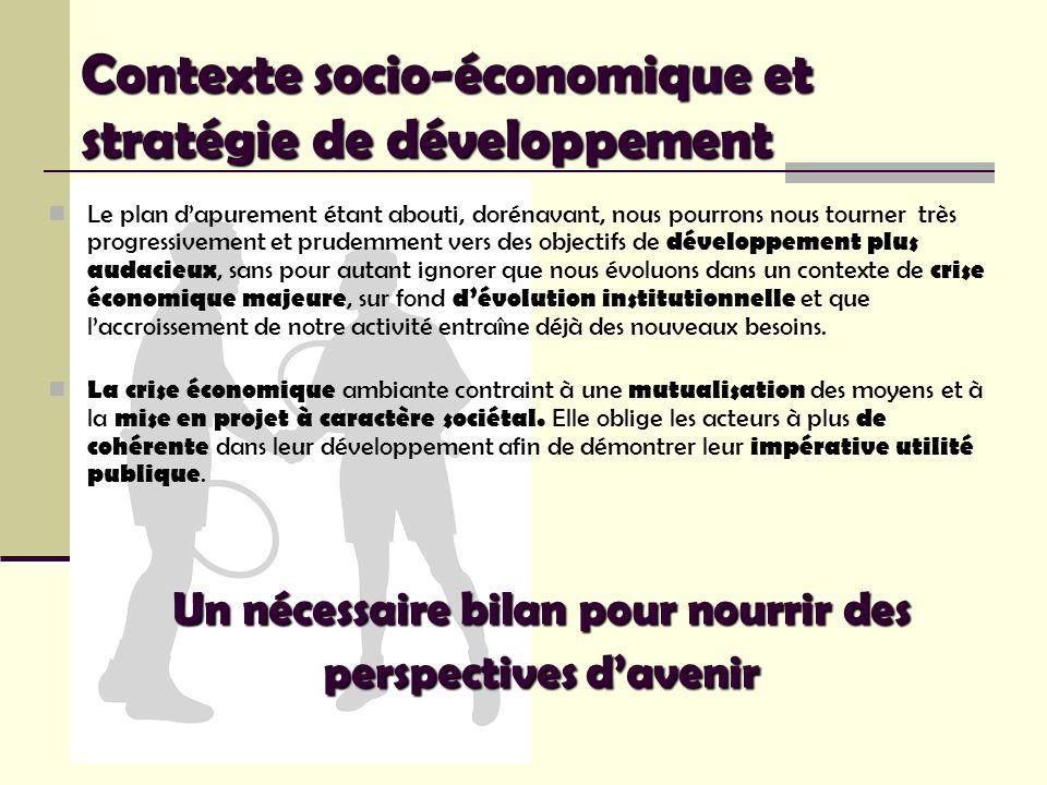 Le plan dapurement étant abouti, dorénavant, nous pourrons nous tourner très progressivement et prudemment vers des objectifs de développement plus au