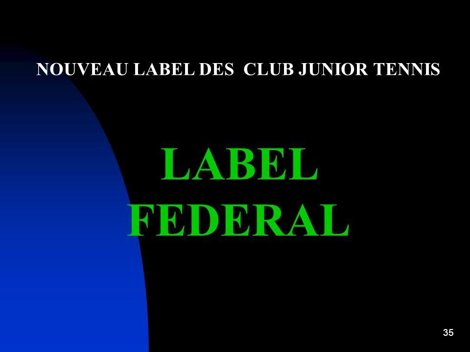 34 CLUB JUNIOR AVENIR en cours dannée Une Passerelle à chaque étape du CLUB JUNIOR EDUCATIF peut sopérer vers le