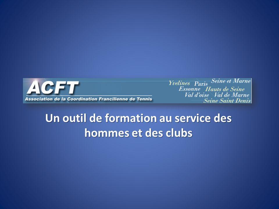 Un outil de formation au service des hommes et des clubs