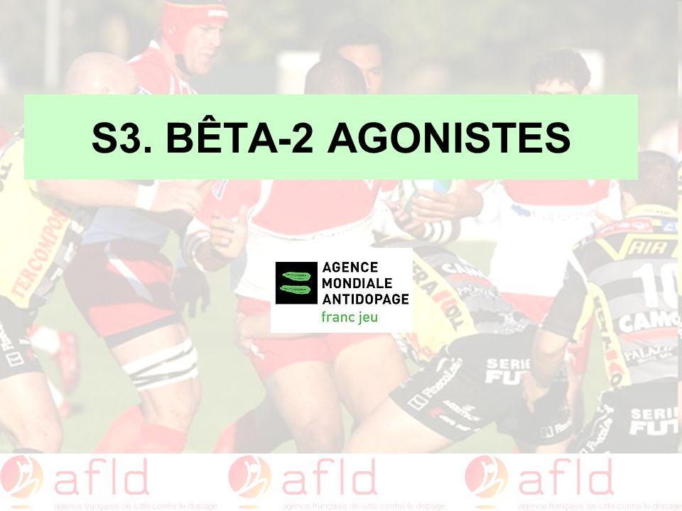 S3. BÊTA-2 AGONISTES
