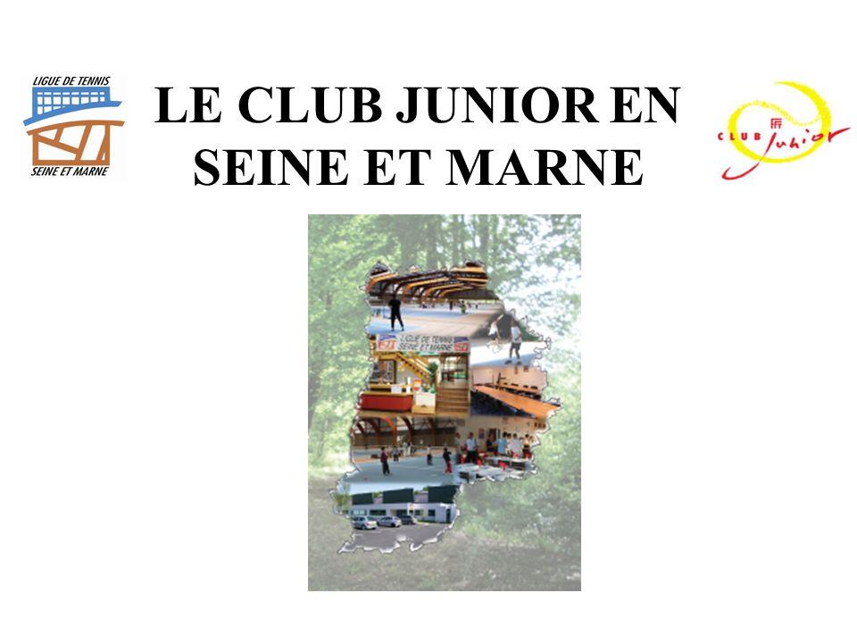 LE CLUB JUNIOR EN SEINE ET MARNE