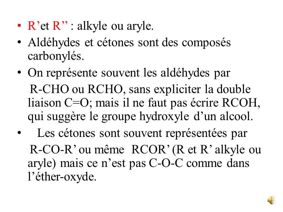 I. Présentation Les fonctions aldéhyde et cétone ont le même groupe fonctionnel C=O, appelé groupe carbonyle, et ne diffèrent que par le nombre de gro