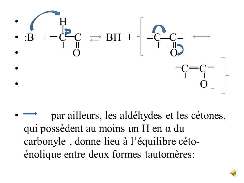 entraîne des réactions daddition qui débutent le plus souvent par lattaque du fragment nucléophile sur le carbone insaturé déficitaire, suivie de la f