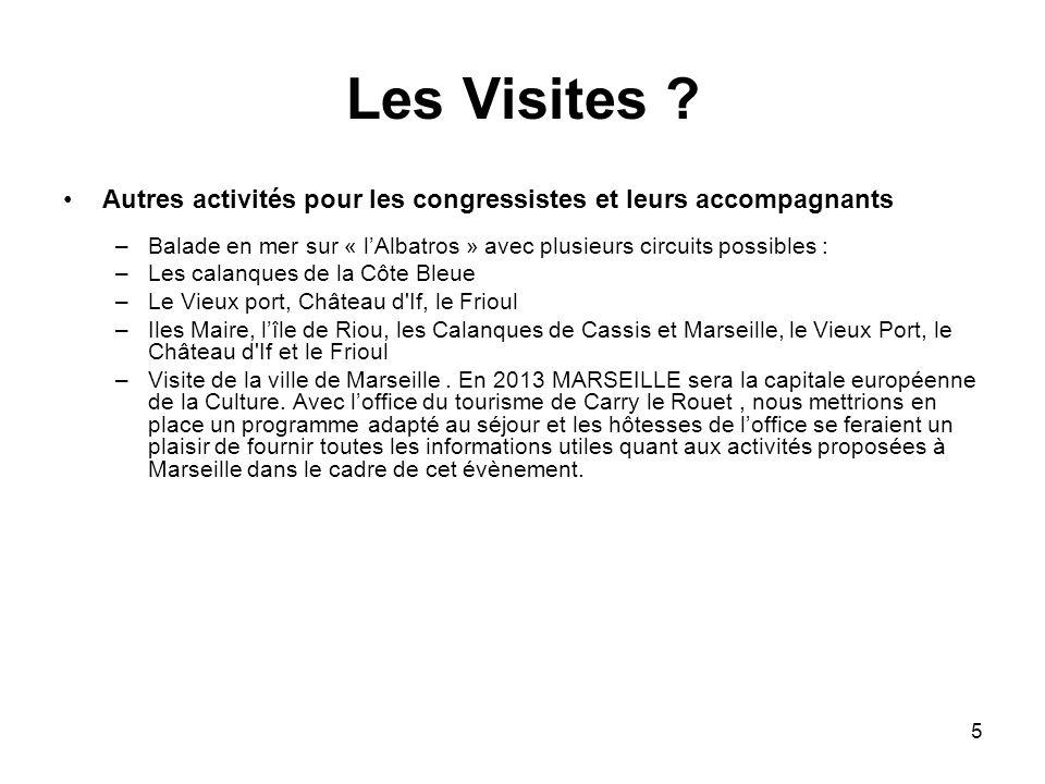 5 Les Visites .
