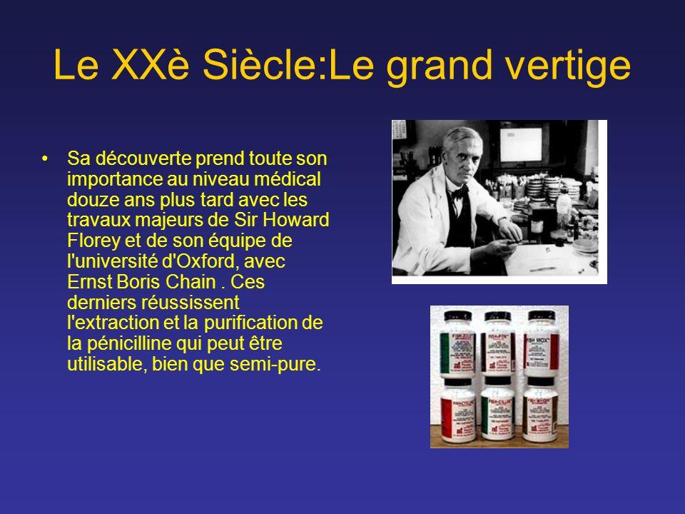 Le XXè Siècle:Le grand vertige Sa découverte prend toute son importance au niveau médical douze ans plus tard avec les travaux majeurs de Sir Howard F