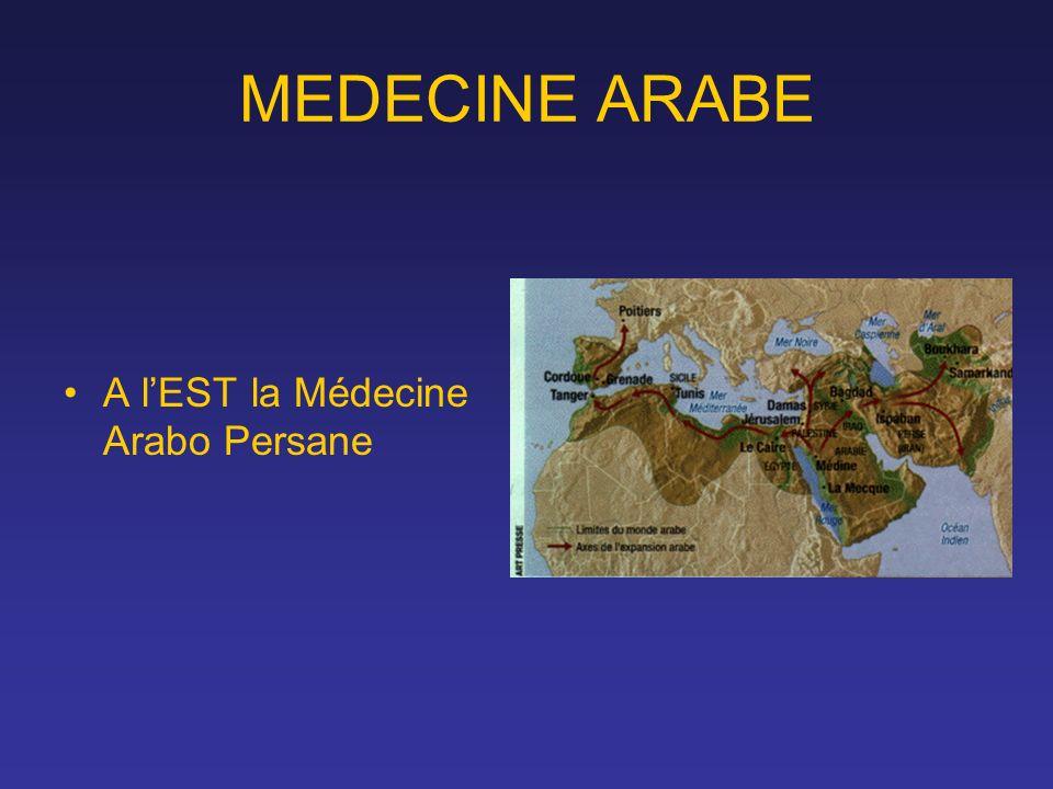 A lEST la Médecine Arabo Persane