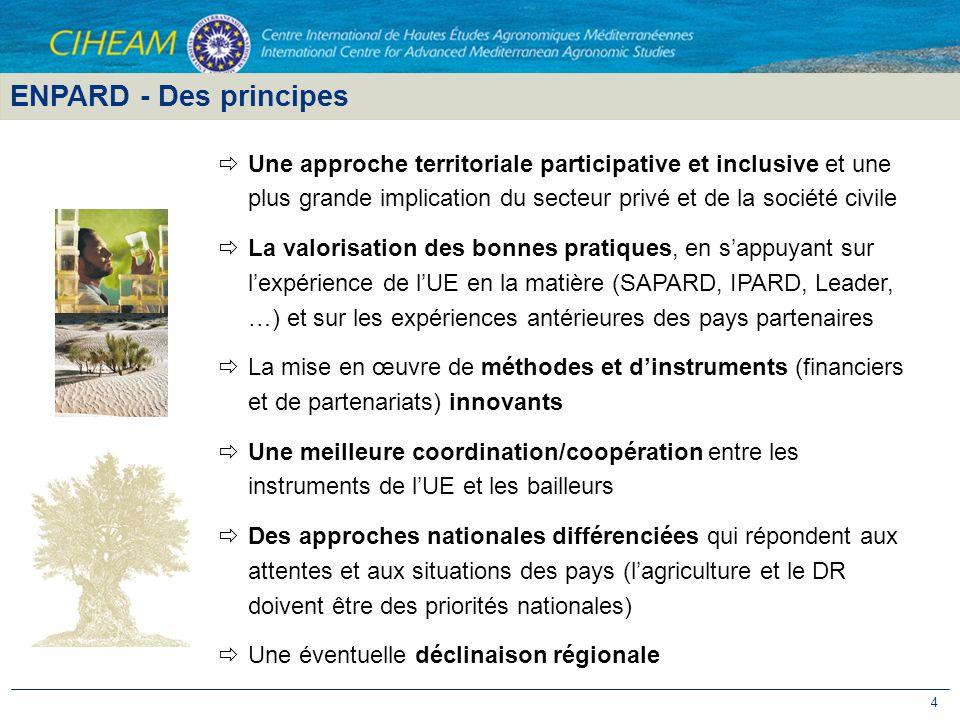 4 Une approche territoriale participative et inclusive et une plus grande implication du secteur privé et de la société civile La valorisation des bon