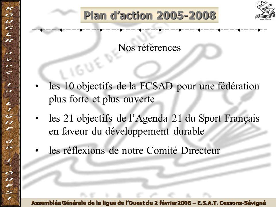 Assemblée Générale de la ligue de lOuest du 2 février2006 – E.S.A.T.