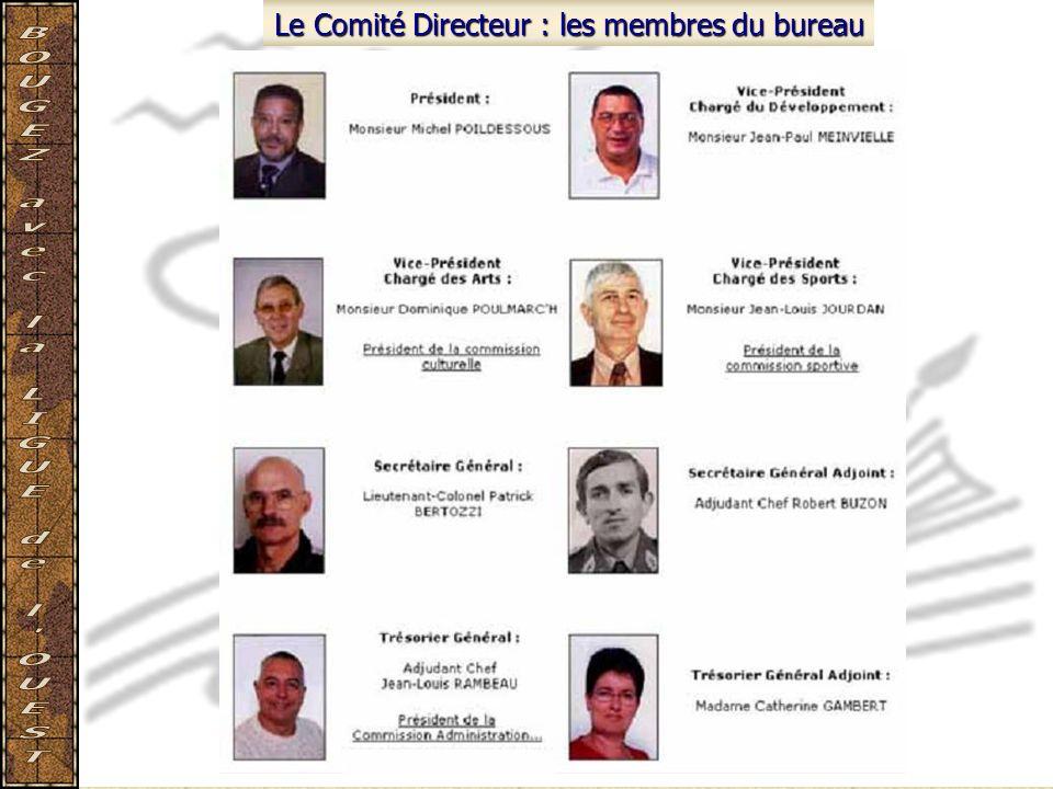 Le Comité Directeur : les membres du bureau