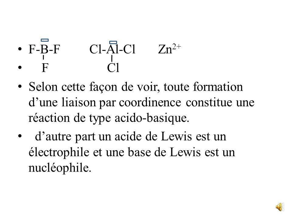 car les espèces qui peuvent fixer un proton ( base de Bronsted) possèdent précisément un doublet libre. Par contre la définition des acides par Lewis