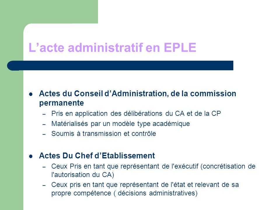 Des modèles d actes Acte du domaine budgétaire Acte du domaine du fonctionnement Circulaire académique du 2/06/2008 sur les modalités de transmission des actes Circulaire académique du 2/06/2008 sur les modalités de transmission des actes
