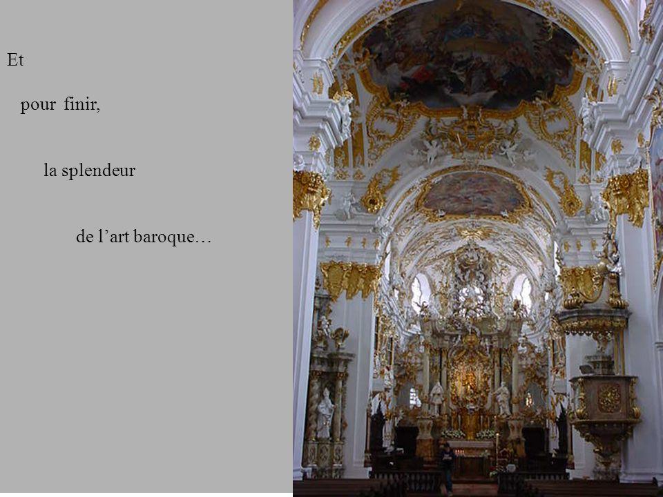 Et pour finir, la splendeur de lart baroque…