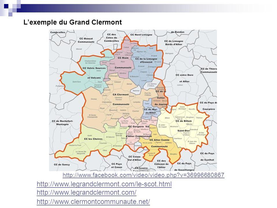 Le site internet du Grand Clermont