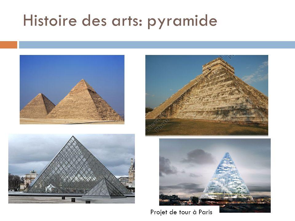 Histoire des arts: pyramide Projet de tour à Paris