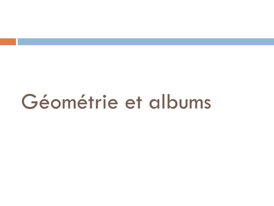 Géométrie et albums