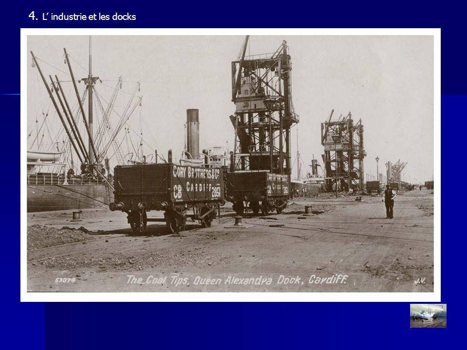 4. L industrie et les docks Vue aérienne 1948 © C. Archon