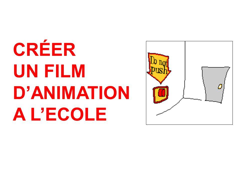 CRÉER UN FILM DANIMATION A LECOLE