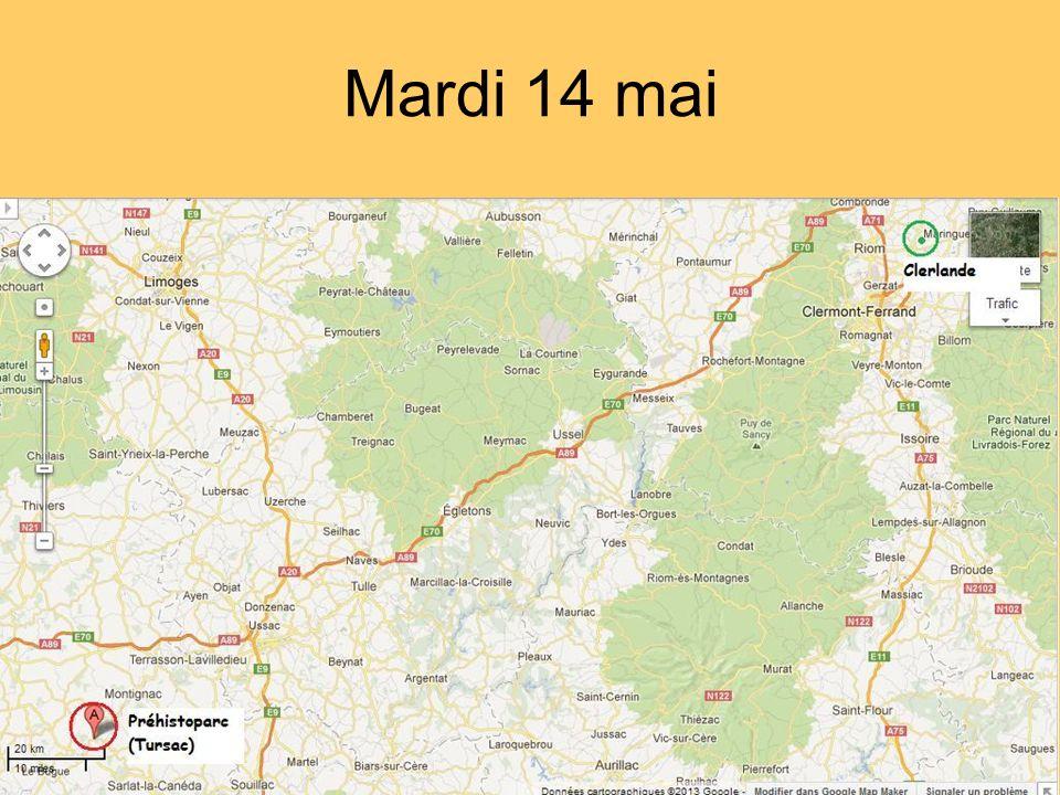 Mardi 14 mai