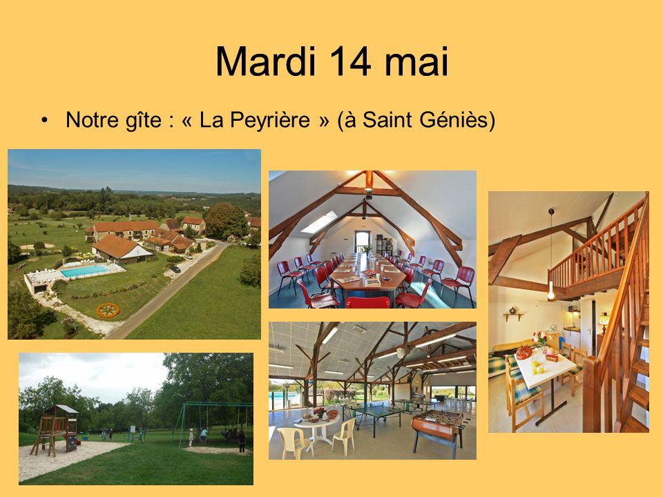 Notre gîte : « La Peyrière » (à Saint Géniès)