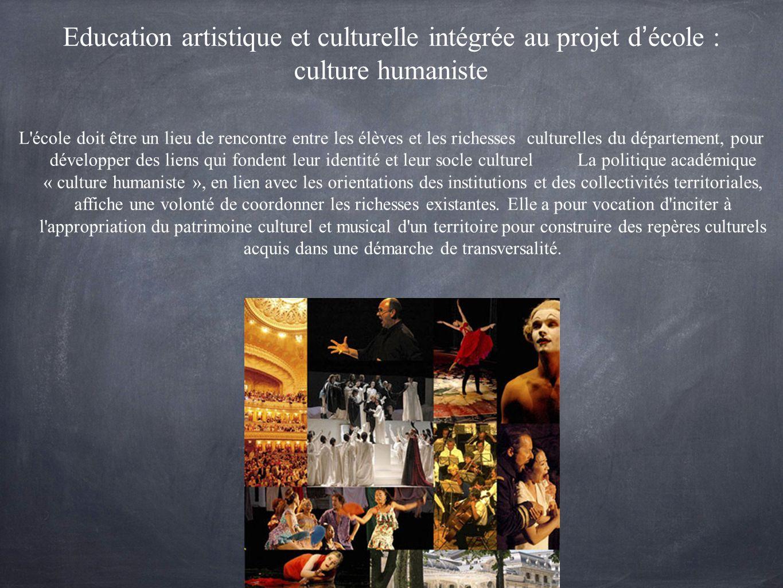 La culture humaniste permet aux élèves d acquérir tout à la fois le sens de la continuité et de la rupture, de l identité et de l altérité en sachant d où viennent la France et l Europe et en sachant les situer dans le monde d aujourd hui, les élèves se projetteront plus lucidement dans l avenir.