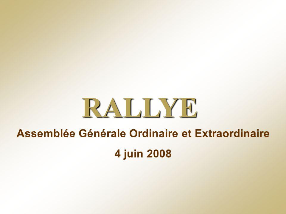 RALLYE – 4 juin 2008 - 64 Deuxième résolution - Délégation de compétence à conférer au conseil dadministration à leffet de décider, en période doffre