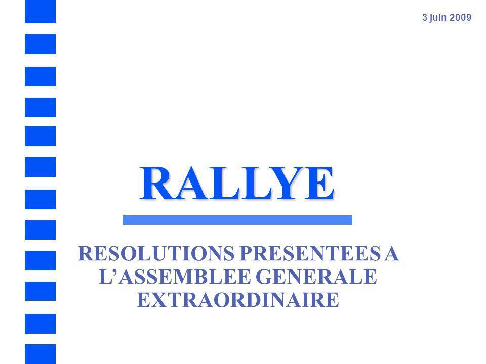 RALLYE – Résultats annuels 2008 - 61 Dix-septième résolution – Renouvellement du mandat dadministrateur de la société Matignon Corbeil Centre pour une