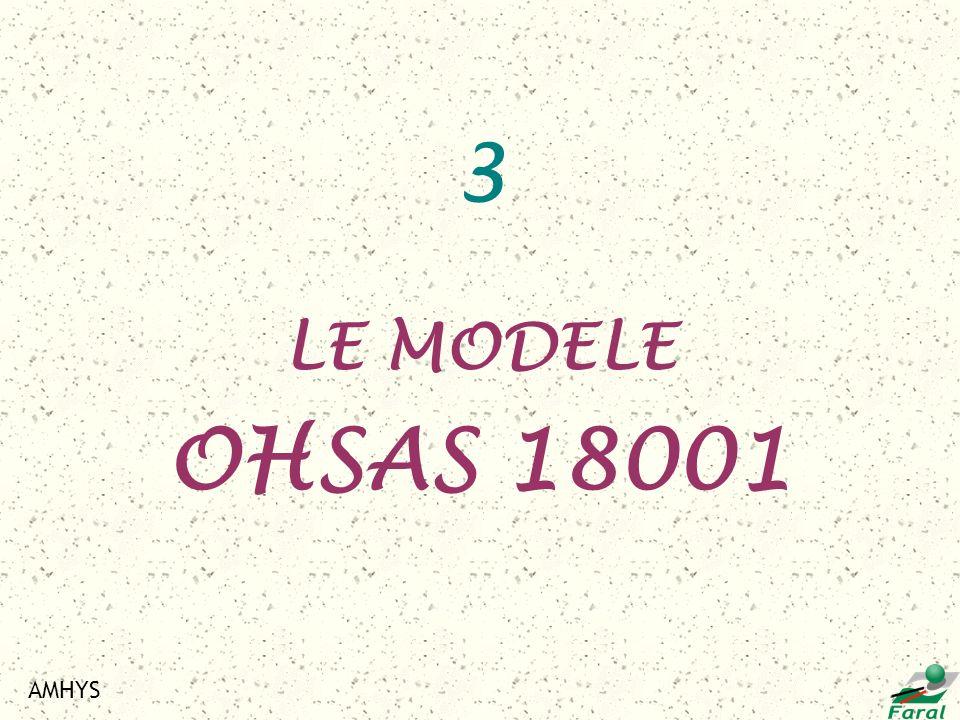 AMHYS 3 LE MODELE OHSAS 18001