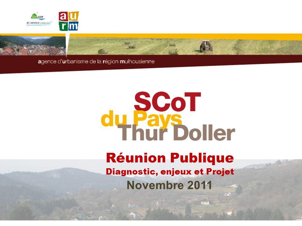 1 Réunion Publique Diagnostic, enjeux et Projet Novembre 2011
