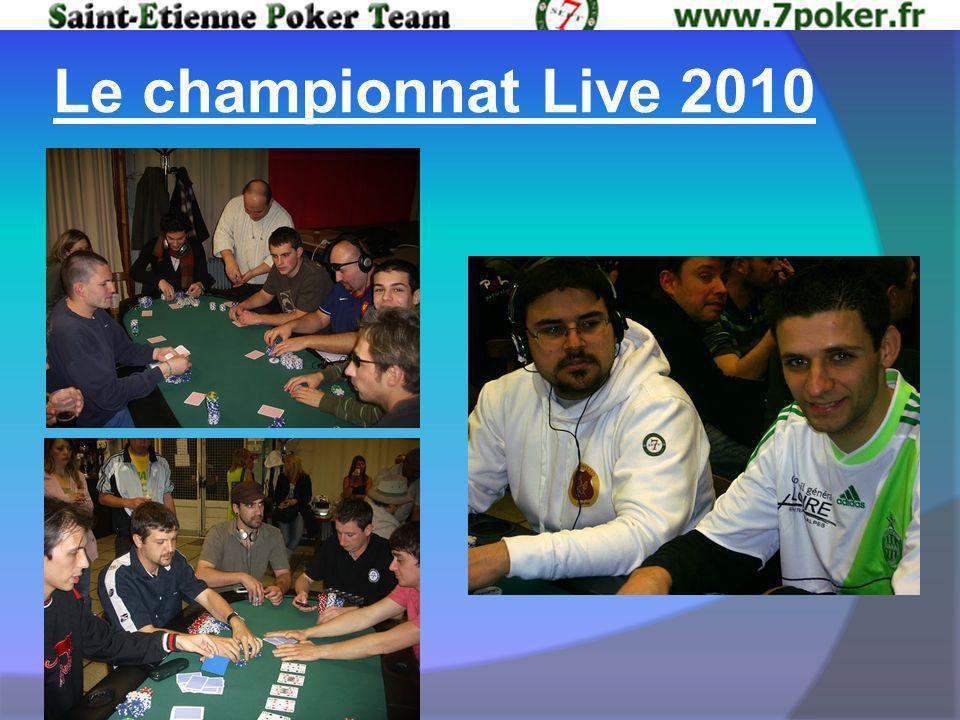 Le championnat Live 2010