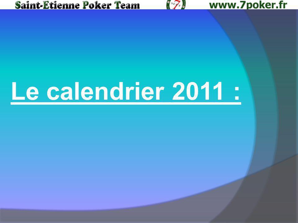 Le calendrier 2011 :
