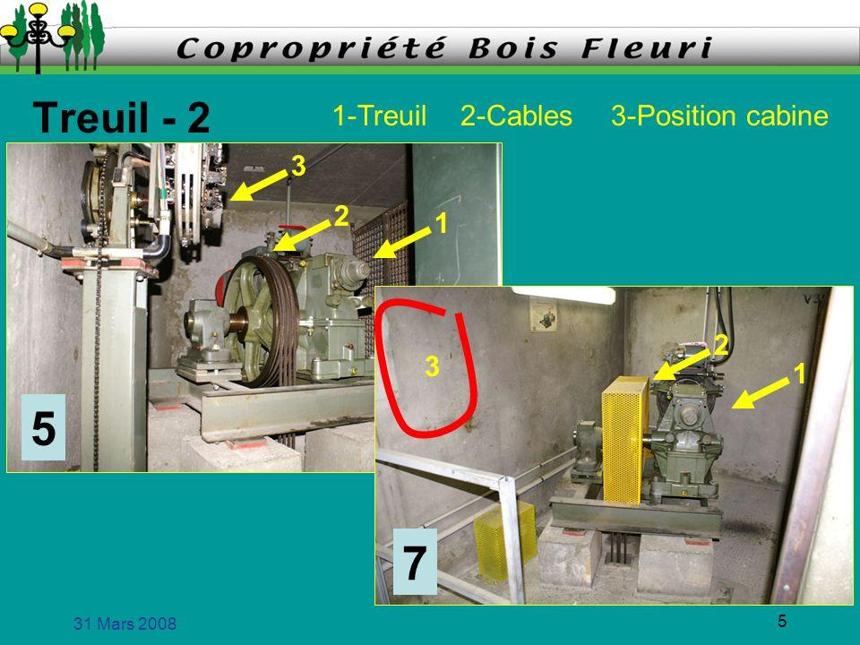 31 Mars 2008 6 Positionnement de la cabine 5 7 Contrôleur Mécanique à chaine Tableaux de manoeuvre à relais Imprécis et brutal Boitier électronique (positionnement précis et doux)