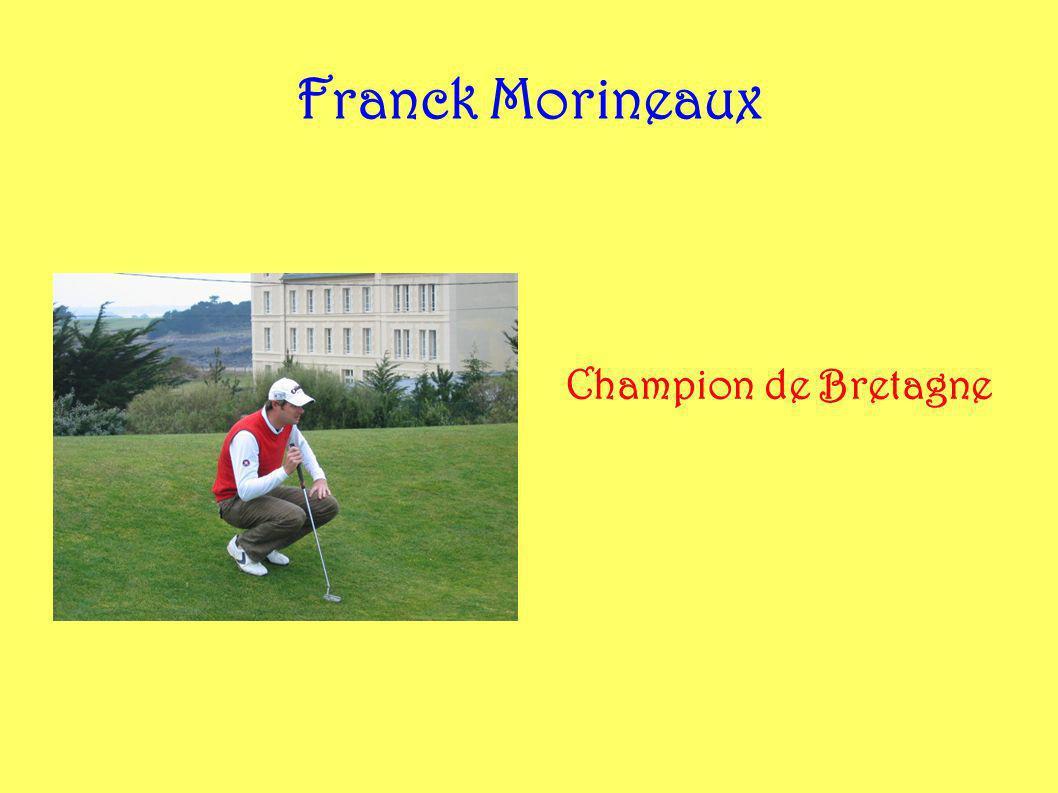 Franck Morineaux Champion de Bretagne