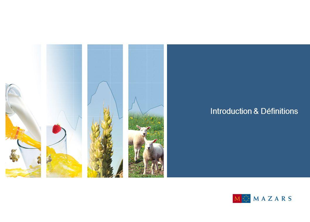 24 Gestion des risques dans les entreprises agro alimentaires Motivations La gestion des risques et développement durable